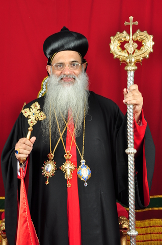 The catholicose of the East and Malankara Metropolitan, His Holiness Moran Mar Baselius Marthoma Paulose II